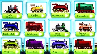 Fun Kids Train Racing Games - Racing & Adventure - Videos Games for Kids | Trains for Children
