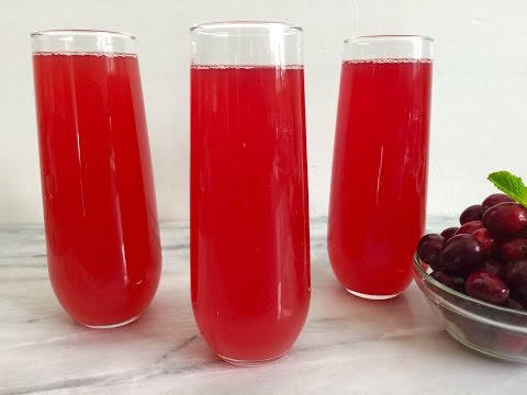 How To Make Fresh Sugar-Free Cranberry Juice