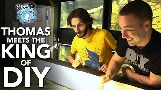 Thomas Meets The King of DIY! | BigAlsPets.com