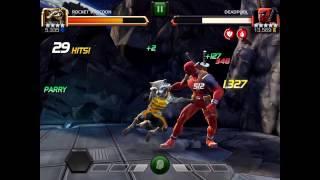 Defeating Deadpool in King Groot