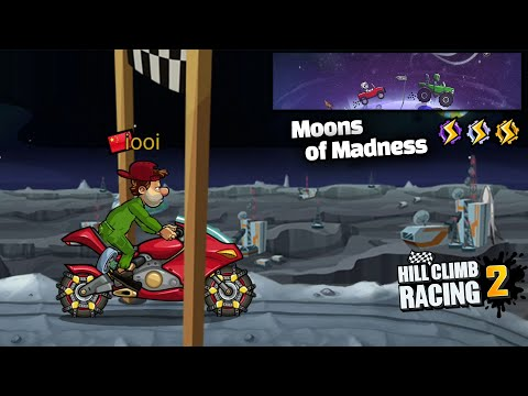 HILL CLIMB RACING 2 - MOONS OF MADNESS NEW EVENT GamePlay |