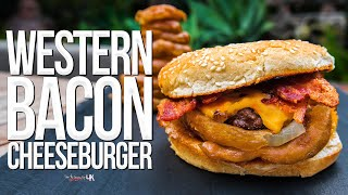 The Best Western Bacon Cheeseburger Ever | SAM THE COOKING GUY 4K