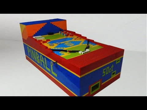 LEGO Pinball Machine V10 [ULTIMATE]