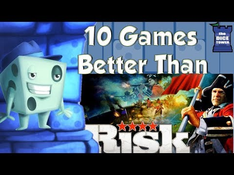 10 Games Better Than Risk - with Tom Vasel