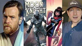 Obi-Wan, She Hulk, Moon Knight, Ms Marvel Confirmed For Disney+