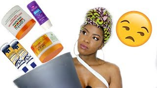"IM THROWING AWAY ALL MY ""NATURAL"" HAIR PRODUCTS BeautyWithPrincess"