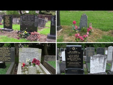 Gravesites of Mary McCartney, Julia Lennon, Stuart Sutcliffe, Brian Epstein, George Toogood Smith