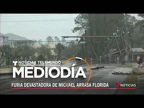 Furia devastadora de Michael arrasa con el noroeste de Florida   Noticiero   Telemundo