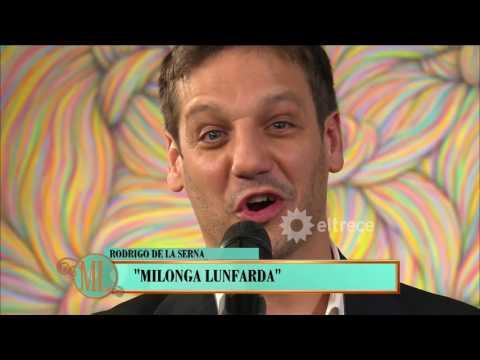 Rodrigo de la Serna sorprendió a Mirtha:  presentó a su grupo musical