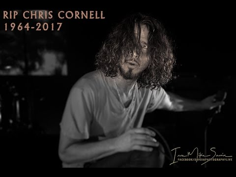 Photo slideshow dedication to Chris Cornell (Soundgarden) RIP 1964-2017