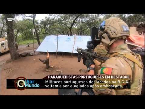 PARAQUEDISTAS DA 6º FND EM COMBATES NA RCA | MINUSCA