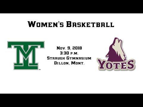 WBB: Montana Tech vs College of Idaho