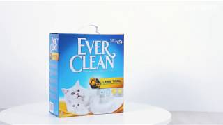 Наполнитель для кошачьего туалета EVER CLEAN Less Trail
