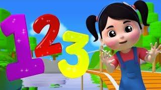 Numéro chanson | apprendre les chiffres | enfants chanson | Numéro comptine | Number Song in French