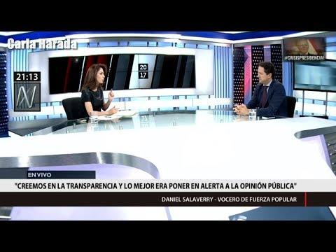 Mávila Huertas llama irresponsable a Daniel Salaverry por hacer denuncias sin pruebas