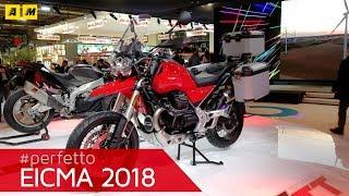 Moto Guzzi V85TT - EICMA 2018 [ENGLISH SUB]