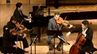 Avalon String Quartet - Antonín Dvořák -- Piano quintet in A Major, Op. 81 -- Allegro, ma non tanto