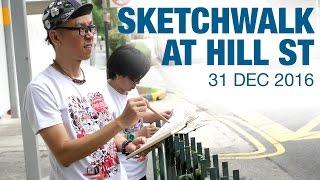 Hill St Sketchwalk (31 Dec 2016) 4K