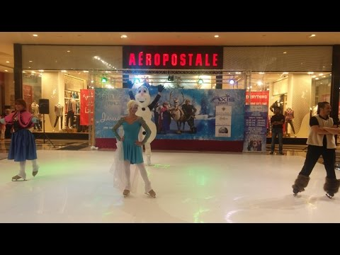 Frozen Princess Skating Show at Muscat Grand Mall -MGM - مسقط جراند مول