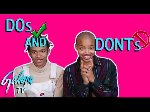 Slick Woods Gives the DOs and DONTs of Modeling at Fashion Week | Galore TV