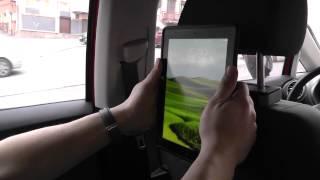 ОБЗОР: Защищенный, Ударопрочный Чехол для iPad 2/ 3/ 4 + авто-держатель на подголовник