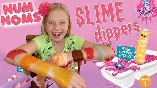 Scented Sparkly Slime!!!!  Num Noms Snackables Surprise!