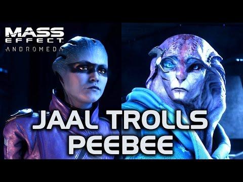 Mass Effect Andromeda  Jaal Trolls Peebee
