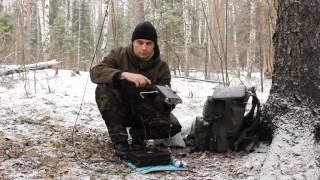 Выход в лес, развертывание КВ радиостанции, радиосвязь на 7МГц из леса
