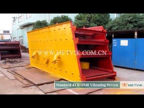 4YK 1548 Vibrating Screen of Shanghai Metvik® Company