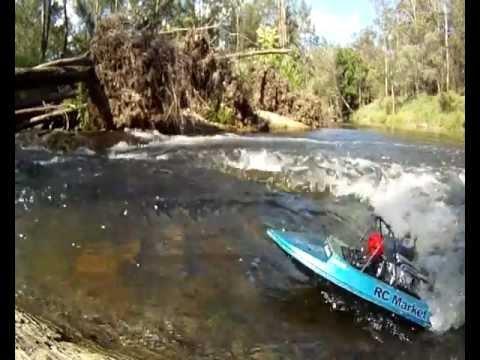 RC Jet Boat Albany Creek QLD.avi