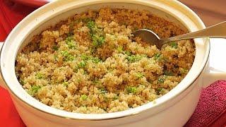 Garlic Quinoa ...instead Of Garlic Rice