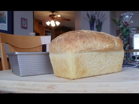 Introduction To Baking No Knead Bread In Bread Pans Youtube