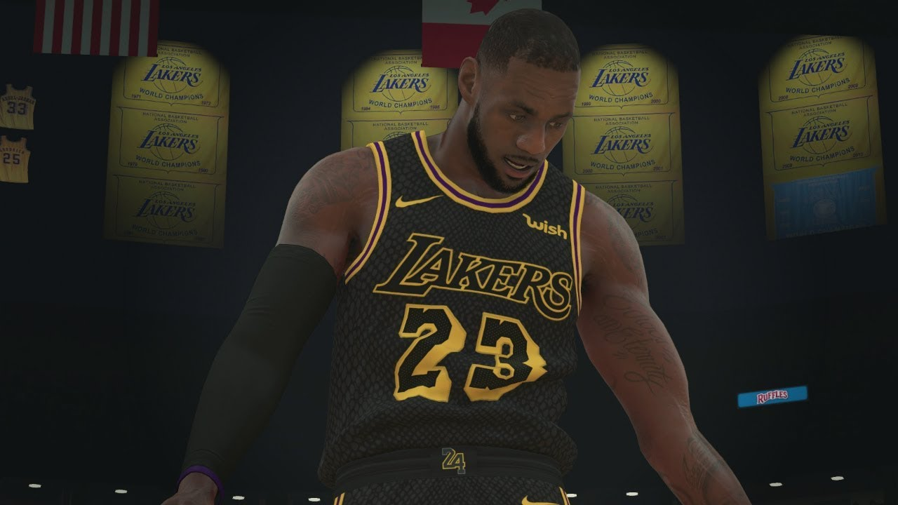 L A King Lebron James Lakers Quick Edit Lebron Los Angeles Lakers Montage Nba 2k18 Youtube