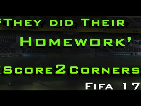 'They Did Their Homework' -- Score 2 Corners -- FIFA 17 Trophy Guides