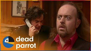 Manny39s First Day  Black Books  Season 1 Episode 2  Dead Parrot