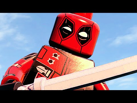 ДЭДПУЛ ИЗ ФИЛЬМА в LEGO Marvels Avengers!