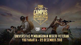 PUBG Mobile Campus Championship - UPN Veteran Yogyakarta - 09 Desember 2018