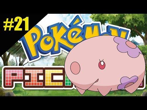 Pokemon Picross #21: MUNNA N04-06 - Gameplay 3DS