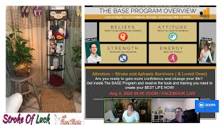The BASE PROGRAM Series #1 -  ReneMarie & Keith Taylor ( Founder Strength after Stroke) -