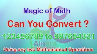 Magic of 8 (123456789 to 987654321)