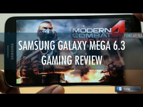 Samsung Galaxy Mega 6.3 Gaming Review