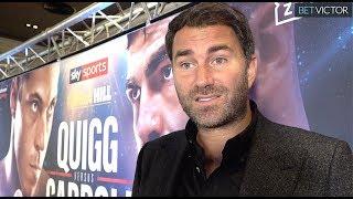 Anthony Joshua wants Kubrat Pulev IN LONDON reveals EDDIE HEARN; why I'm backing Fury over Wilder