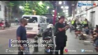 Puluhan Bonek Berkumpul di Kota Lama Semarang