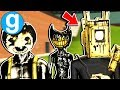 Brand New Bendy and The Ink Machine Projectionist Playermodel - Gmod BATIM Sandbox Funny Moments