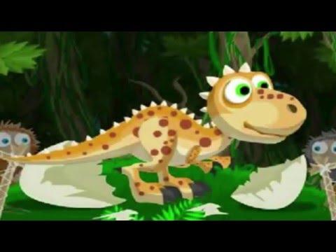 ✔ Мультик Игра про Динозавров - Отважный ДИНОЗАВР Дино - Мульти Пульти ✔