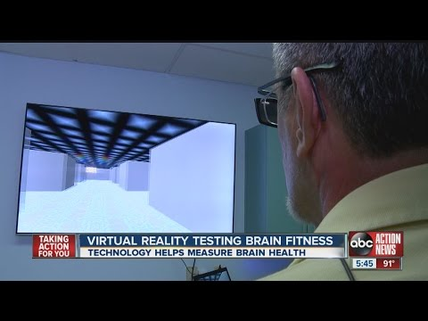 Virtual reality test helps diagnose brain trauma
