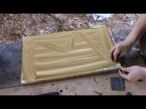 How to paint an imitation wood grain veined Types - Luis Lovon ...