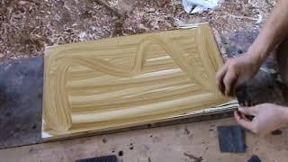 Como Pintar Una Imitacion De Vetas De Madera Tipos De Veteado - Luis Lovon