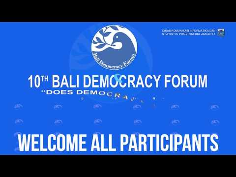 10th Bali Democracy Forum
