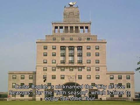 Cedar Rapids, Iowa - Facts, History, Economy